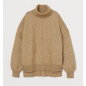 H&M Knit Turtleneck Sweater Olive Green 💚